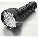 זול פנסים-אש 5 פנס LED LED 15000 lm 5 מצב תאורה עמיד לחבטות / אחיזה נגד החלקה / נטענת מחנאות / צעידות / טיולי מערות / שימוש יומיומי / משטרה / צבא