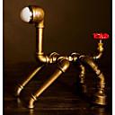 tanie Lampy stołowe-Rustykalny Dekoracyjna Lampa stołowa Na Sypialnia / Gabinet / Pokój do nauki Metal 220v
