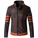 رخيصةأون جواكيت الدراجات النارية-AOWOFS Y999 ملابس نارية Jacket إلى الرجال جلد PU ربيع & الصيف / الشتاء ضد الماء / طبيعي / مقاومة للاهتراء