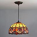 economico Lampade Tiffany-Luci Pendenti Luce ambientale Finiture verniciate Bicchiere Bicchiere Multi-tonalità, Creativo 110-120V / 220-240V