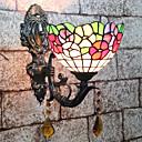cheap Vanity Lights-Creative / Lovely Tiffany / Retro / Vintage Wall Lamps & Sconces / Bathroom Lighting Bedroom / Indoor Resin Wall Light 110-120V / 220-240V 25 W