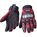 baratos Luvas de Motociclista-Dedo Total Todos Motos luvas Fibra de carbono / Elastano Licra / Tecido de Rede Anti-desgaste / Antiderrapante