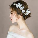ieftine Ceasuri La Modă-Aliaj Clip de păr cu Cristal 3 Piese Nuntă / Zi de Naștere Diadema
