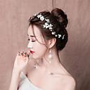 levne Ozdoby do vlasů na večírek-nevěsta Květinový Čínský styl Elegantní Doplňky do vlasů Skřipce Vlásenky Svatební šperky Soupravy Pro Štando Svatebnívečírek Dámské Dívčí Kostýmní šperky