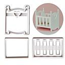 levne Formy na dorty-3ks Plastický Tvůrčí kuchyně Gadget Dorty Pro kuchyňské náčiní Formy na dorty Nástroje na pečení