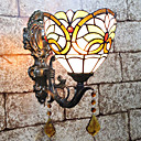 povoljno Zidni svijećnjaci-Kreativan / Lijep Tiffany / Retro / vintage Zidne svjetiljke Spavaća soba / Unutrašnji Resin zidna svjetiljka 110-120V / 220-240V 25 W