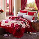 billige Tæpper ogplaider-Seng tæpper, Still Life / Klassisk Polyester / Polyamid Saucen jævnes dyner