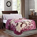 billige Tæpper ogplaider-Seng tæpper, Still Life / Blomst Polyester / Polyamid Saucen jævnes dyner