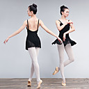 preiswerte Ballettbekleidung-Ballett Kleider Damen Training / Leistung Elastan / Lycra Wellenmuster / Kombination Ärmellos Kleid