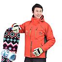 お買い得  スキーウェア-MARSNOW® 男性用 スキージャケット 防水 ウォーム 耐久性 スキー スノーボード コットンシェニール100% ウインドブレーカー ウォームトップス トップス スキーウェア / 冬