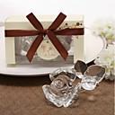 halpa Pikkulahjat - lasinaluset-lasi Kukka / Love Coaster suosii - 1 pcs Kukin / Set Wedding / Friends Kaikki vuodenajat