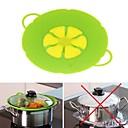 levne Kuchyňské náčiní-10.2inch silikonové víko uzávěr zátky hrnec pro hrnce hrnce květ tvaru nástroje pro vaření