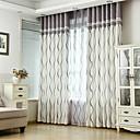 abordables Cortinas de Ducha-A Medida Ahorro de Energía cortinas cortinas Dos Paneles 2*(W183cm×L213cm) / Dormitorio