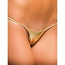 cheap Sexy Uniforms-Women's G-strings & Thongs Panties - Lace up, Solid Colored Mid Waist