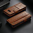 voordelige Mobiele telefoonhoesjes-CaseMe hoesje Voor Samsung Galaxy Note 8 Portemonnee / Kaarthouder / met standaard Volledig hoesje Effen Hard PU-nahka voor Note 8
