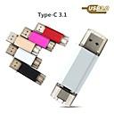 abordables Cartes Mémoire-Ants 32Go clé USB disque usb USB 3.0 / Type-C Carcasse de métal Irrégulier Couvres