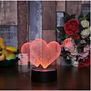 halpa Hääkoristeet-Muut LED valot Akryyli Wedding Kunniamerkit Häät / Ystävänpäivä Wedding / Birthday / Heart Kaikki vuodenajat