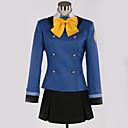 abordables Disfraces de Anime-Inspirado por Cosplay Cosplay Animé Disfraces de cosplay Uniformes Escolares Británico / Contemporáneo Pañuelo / Top / Falda Para Hombre / Mujer