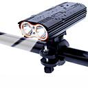 billige Sykkelhansker-LED Sykkellykter Frontlys til sykkel Fjellsykling Sykling Vanntett 360° rotasjon Flere moduser 18650 2000 lm Usb Oppladbar Sykling / Super Bright / Vidvinkel / Fort Frigjøring
