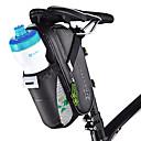 olcso Túratáskák csomagtartóra-ROCKBROS Nyeregtáska Viselhető Könnyű felhelyezés Kerékpáros táska Szénrost Kerékpáros táska Kerékpáros táska Kerékpározás Kerékpározás / Kerékpár / Vízálló cipzár