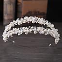 זול הד פיס למסיבות-סגסוגת Tiaras עם דמוי פנינה / פרטים מקריסטל חלק 1 חתונה / אירוע מיוחד כיסוי ראש