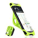 זול פדלים-WEST BIKING® מתקן טלפון לאופניים נייד מונע החלקה קל להתקנה ל אופני כביש אופני הרים סיליקון Aluminum Alloy X iPhone XS iPhone XR iPhone רכיבת אופניים שחור כתום ירוק