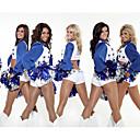preiswerte Karriere & Beruf-Kostüme-Cheerleader Cowboy Erwachsene Damen Kostüme Kleid Austattungen Für Leistung Polyester Sterne Top Hosen Karneval Maskerade