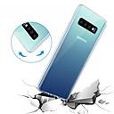 billige Mobilcovers-Etui Til Samsung Galaxy Galaxy S10 / Galaxy S10 E Transparent Bagcover Ensfarvet Blødt TPU for S9 / S9 Plus / S8 Plus