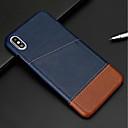 povoljno iPhone maske-Θήκη Za Apple iPhone XS / iPhone XR / iPhone XS Max Utor za kartice Stražnja maska Jednobojni Tvrdo PU koža