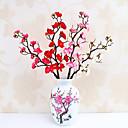 povoljno Umjetna Cvijet-Umjetna Cvijeće 5 Podružnica Klasični Stilski Suvremena suvremena Plum Cvjeće za stol