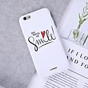 levne iPhone pouzdra-Carcasă Pro Apple iPhone XS / iPhone XR Vzor Zadní kryt Slovo / citát / Srdce / Komiks Měkké TPU pro iPhone XS / iPhone XR / iPhone XS Max