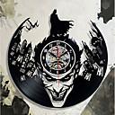 hesapli Duvar Saatleri-batman palyaço cd kayıt duvar saati