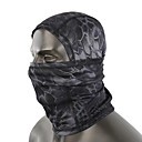 cheap Balaclavas & Face Masks-Balaclava Camo / Camouflage Windproof Breathable Fast Dry Dust Proof Sweat-wicking Bike / Cycling for Men's Adults' Outdoor Exercise Motorcycle Motobike / Motorcycle Snake Print 1 Piece