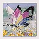 povoljno Slike za cvjetnim/biljnim motivima-Hang oslikana uljanim bojama Ručno oslikana - Sažetak Pop art Moderna Uključi Unutarnji okvir