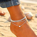 cheap Trendy Jewelry-women's fashion alloy anklets