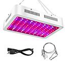 abordables Lampe de croissance LED-1pc 1000 W 5160-5950 lm 100 Perles LED Spectre complet Luminaire croissant Rouge 85-265 V