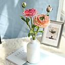 halpa Tekokukat-Keinotekoinen Flowers 1 haara Klassinen Eurooppalainen Camellia Eternal Flowers Pöytäkukka