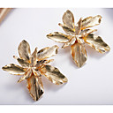 ieftine Cercei-Pentru femei Cercei cercei Bijuterii Auriu / Argintiu Pentru Zilnic 1 Pair