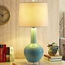 halpa Pöytävalaisimet-Yksinkertainen Koristeltu Pöytälamppu Käyttötarkoitus Makuuhuone Keraaminen 220V