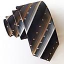 abordables Chaussures Modernes-Homme Travail Cravate Rayé