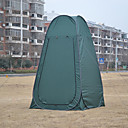 رخيصةأون مفارش و خيم و كانوبي-1 شخص خيمة التخييم العائلية في الهواء الطلق ضد الهواء مقاوم للأشعة فوق البنفسجية مكتشف الأمطار طبقة واحدة أوتوماتيكي خيمة التخييم 1000-1500 mm إلى Camping / Hiking / Caving