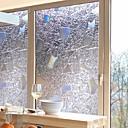 povoljno Ženske tenisice-Prozor Film i Naljepnice Ukras Suvremena / 3D Geometrijski oblici PVC Naljepnica za prozor / Protiv odsjaja