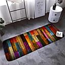 cheap Mats & Rugs-1pc Modern Bath Mats Coral Velve Stripes 5mm Bathroom Non-Slip / Easy to clean