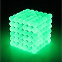 povoljno 3D printeri-216 pcs 3 mm Magnetne igračke Magnetska igračka Magnetske kuglice Magnetne igračke Snažni magneti Puzzle Cube Magnetska igračka Sjaji u mraku Stres i anksioznost reljef Fokus igračka Uredske stolne