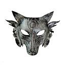 זול תחפושות מבוגרים-Warwolf תחפושות קוספליי מסכה מבוגרים בגדי ריקוד גברים חג ליל כל הקדושים האלווין (ליל כל הקדושים) נשף מסכות פסטיבל / חג פלסטיק כסף / מוזהב תחפושות קרנבל חיה