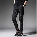 رخيصةأون قمصان وبنطلونات وشورتات الجري-بنطلون رجالي بنطلونات لون سادة أساسي
