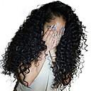 povoljno Perike s ljudskom kosom-Ljudska kosa Lace Front Perika Duboko udaljavanje Stražnji dio stil Brazilska kosa Duboko kovrčava Natural Perika 250% Gustoća kose s dječjom kosom Dar Rasprodaja Udobnost Žene Dug Perike s ljudskom