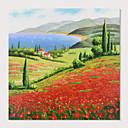 halpa Maisema maalaukset-Hang-Painted öljymaalaus Maalattu - Maisema Moderni Sisällytä Inner Frame / Venytetty kangas