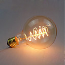 preiswerte Glühlampen-1pc 40 W E26 / E27 G95 Gelb Transparent Körper Glühbirne Vintage Edison Glühbirne 220-240 V