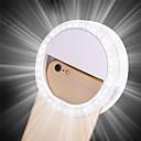 halpa Koristevalot-1kpl kannettava clip selfie lamppu matkapuhelin ympyrä rengas flash linssi kauneus täyttää valo lamppu matkapuhelin älypuhelin